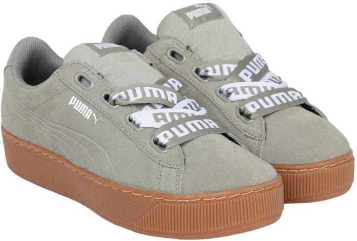 Puma Puma Vikky Platform Ribbon Bold Sneakers For Women - Buy Puma ... 0ba5b1001