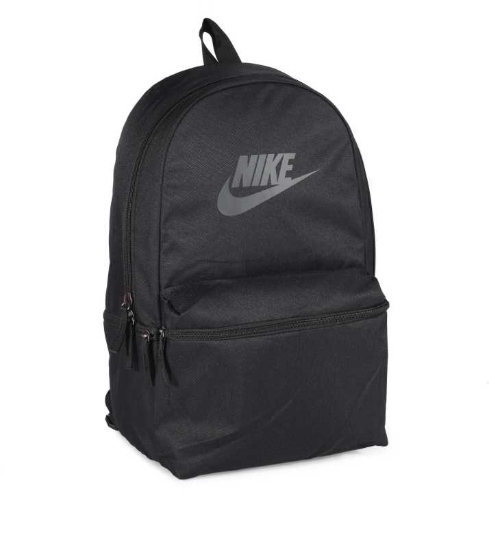 5bef417deb503 Nike NK Heritage 26 L Backpack (Black)