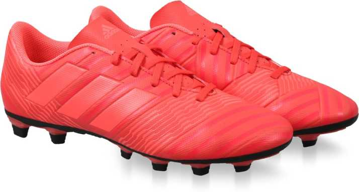 predominante la mejor moda nueva estilos ADIDAS NEMEZIZ 17.4 FXG Football Shoes For Men - Buy REACOR/REDZES ...