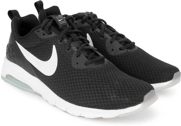 0ae59e220061 Nike Air Max Motion Running Shoes For Men - Buy BLACK WHITE Color ...