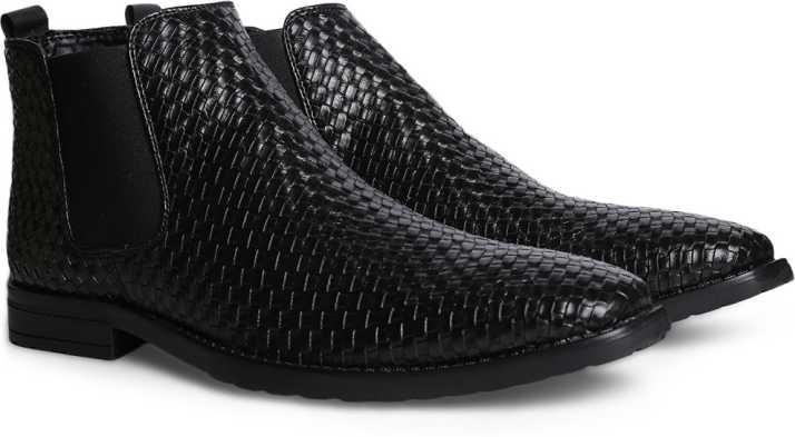 6093dc1c18 Bata Mason Boots For Men - Buy Black Color Bata Mason Boots For Men ...