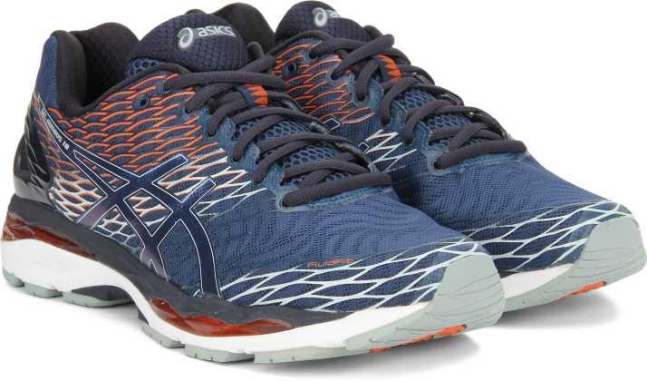 332efe00c327 Asics GEL-NIMBUS 18 Running Shoes For Men - Buy POSEIDON DARK ...
