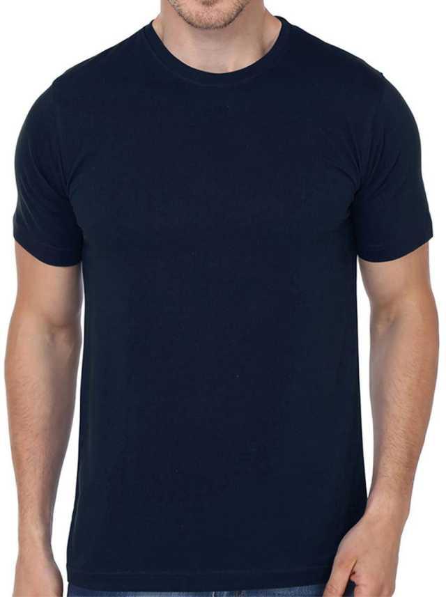 eccf077a5d45 ATRANGI STORE Solid Men & Women Round Neck Black T-Shirt - Buy ...