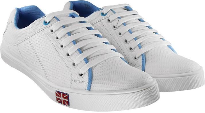 Blinder Men's White Sneakers For Men