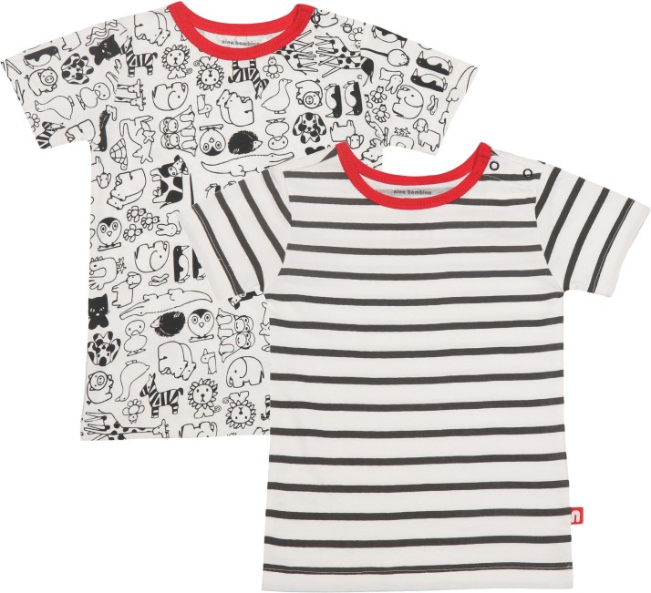 Bambini Boys Print Infant Gowns 2 Pack