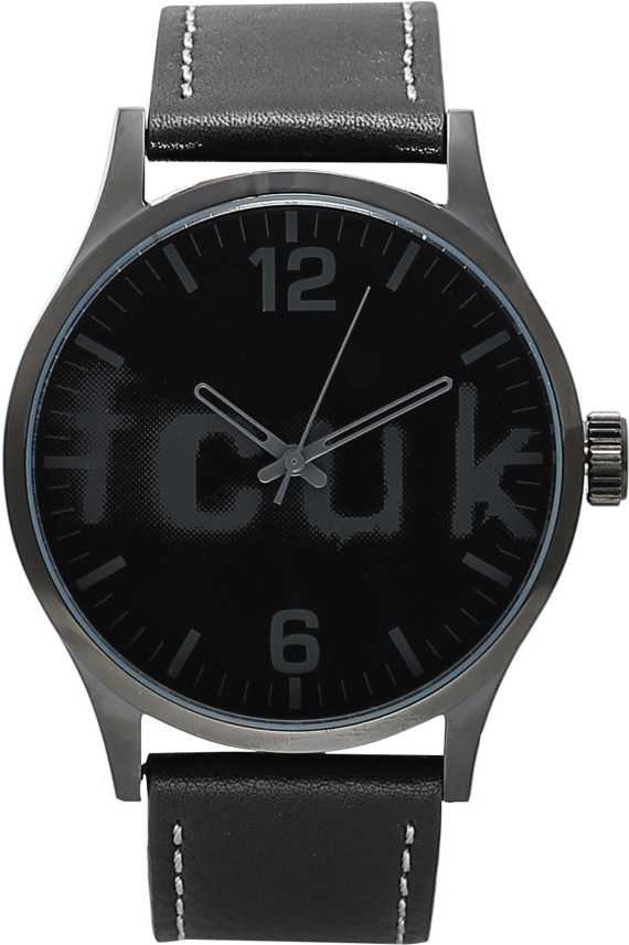 French Connection NFC1096BBLGN Analog Watch - For Men