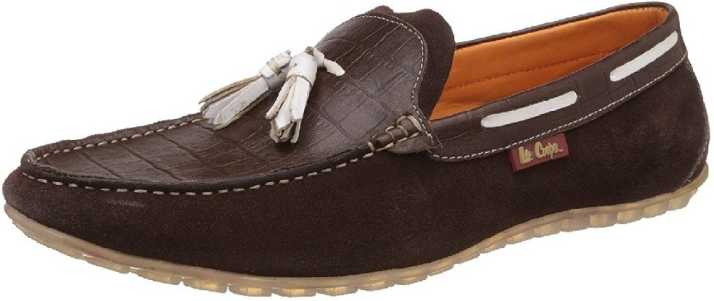 643ae726abb Lee Cooper Loafers For Men - Buy Brown Color Lee Cooper Loafers For Men  Online at Best Price - Shop Online for Footwears in India