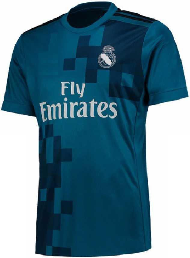 brand new c831a 5dd86 Marex Self Design Men & Women Round Neck Blue T-Shirt