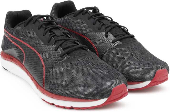 abdbb1a97fb Puma Speed 300 IGNITE 2 Running Shoes For Men - Buy Black-QUIET ...