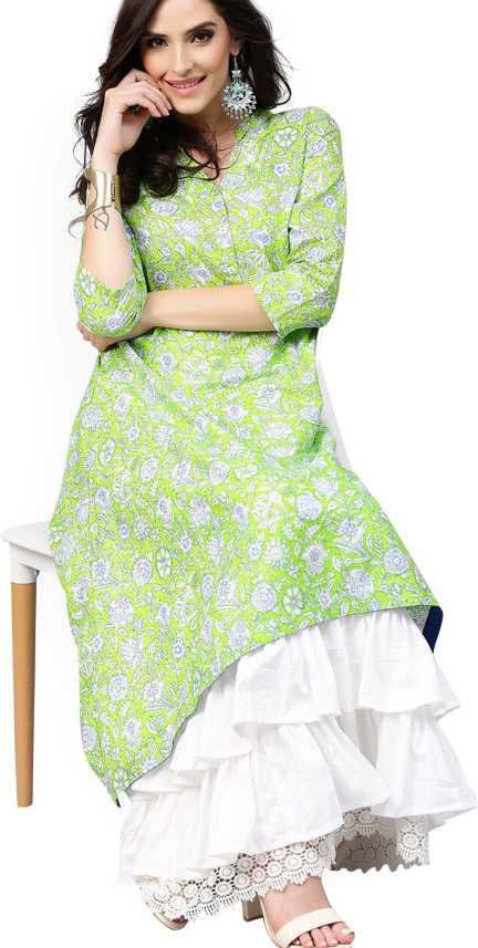 63ba2e5ec Aks Women Maxi Green Dress - Buy Aks Women Maxi Green Dress Online at Best  Prices in India