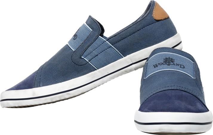 Woodland Slip On Sneakers For Men - Buy