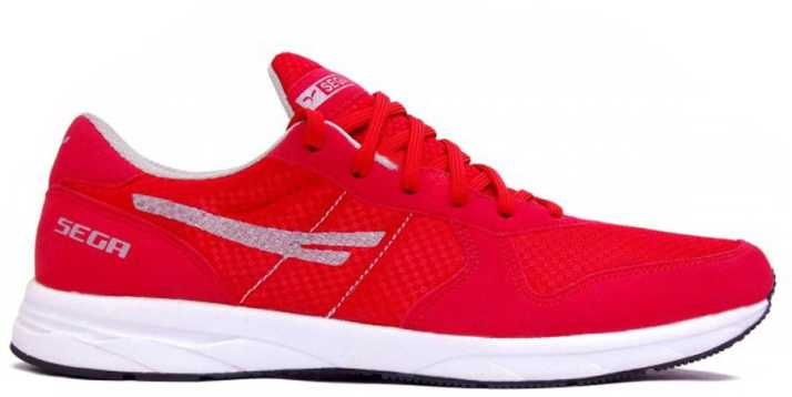 d00de166fe0 SEGA Multi purpose Red Marathon Walking Shoes For Men - Buy SEGA ...