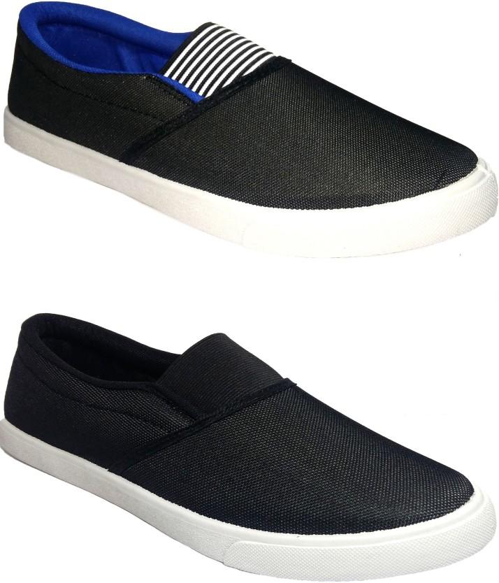 FITMAN Canvas Shoes For Men - Buy