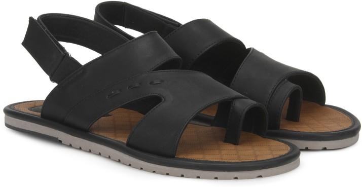 Bata Men Black Sandals - Buy Bata Men
