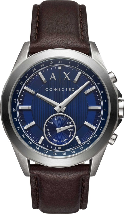 armani exchange hybrid watch