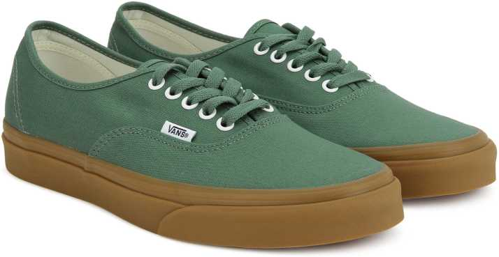 edbbaa2c186 Vans Authentic Sneakers For Men - Buy duck green gum Color Vans ...