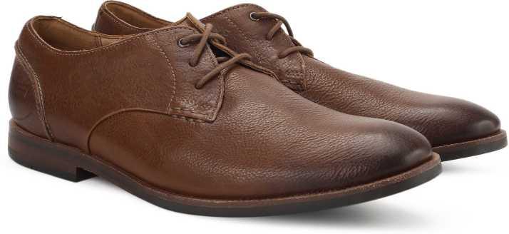 error Profecía garra  Clarks Broyd Walk Tan Leather Lace Up For Men - Buy Tan Color Clarks Broyd  Walk Tan Leather Lace Up For Men Online at Best Price - Shop Online for  Footwears in