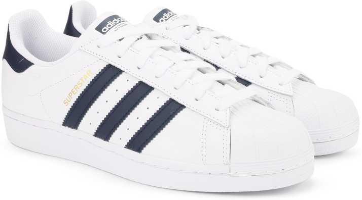ADIDAS Originals Superstar Navy Blue Sneakers