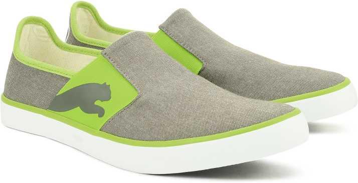 811b0b7ea850 Puma Lazy Slip On II DP Sneakers For Men - Buy Castor Gray-Limepunch ...