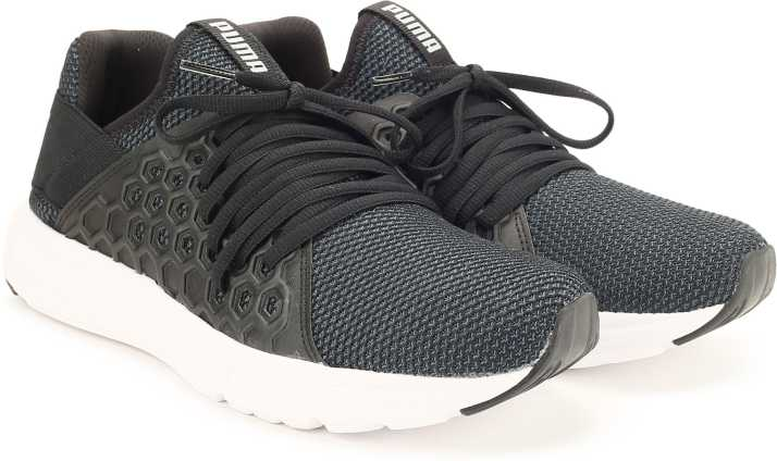 grava Groenlandia visión  Puma Enzo NF Running Shoes For Men - Buy Puma Black-Puma Silver Color Puma  Enzo NF Running Shoes For Men Online at Best Price - Shop Online for  Footwears in India