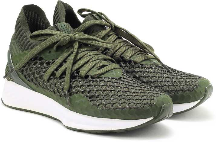 Puma IGNITE NETFIT Running Shoes For Men Buy Forest Night