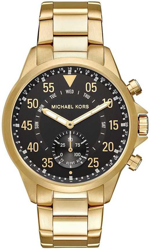 85927440fc5d Michael Kors black8085 Michael Kors Access Hybrid Smartwatch Gage ...