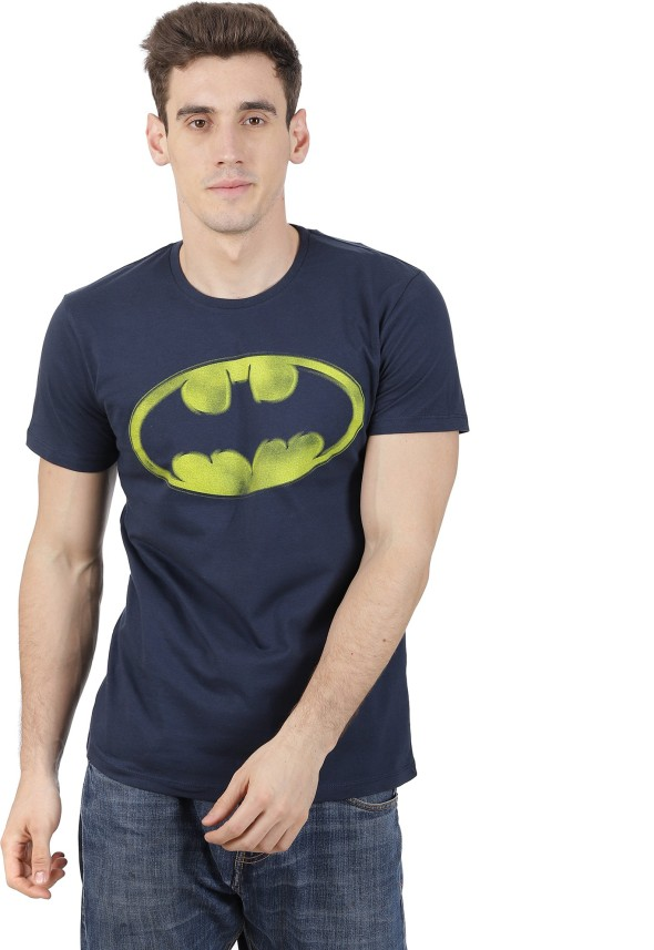 Batman Face Flip-up Reversible Tee Shirt