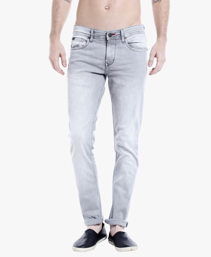 Lee Cooper by fbb Slim Men Grey Jeans