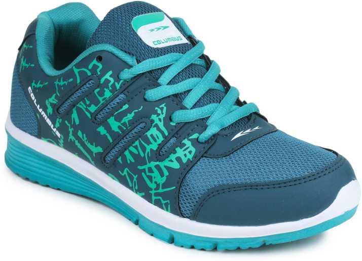 21867baab6c Columbus Ruhi-04-BGreenGreen Running Shoes For Women - Buy Columbus ...