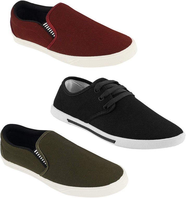 Chevit Combo Pack of 3 Casual (Loafers