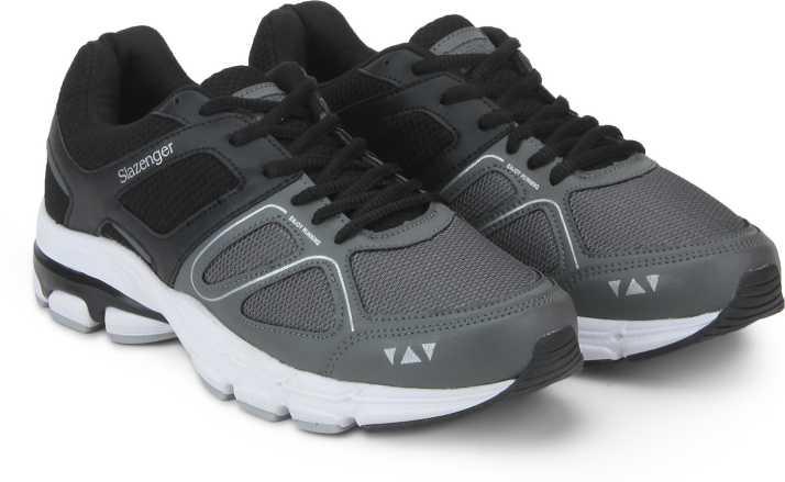 abdb05b2f99 Slazenger Astron Running Shoes For Men - Buy Grey/Black Color ...
