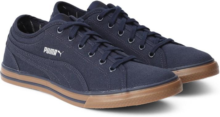 Puma Canvas Shoes For Women - Buy Blue