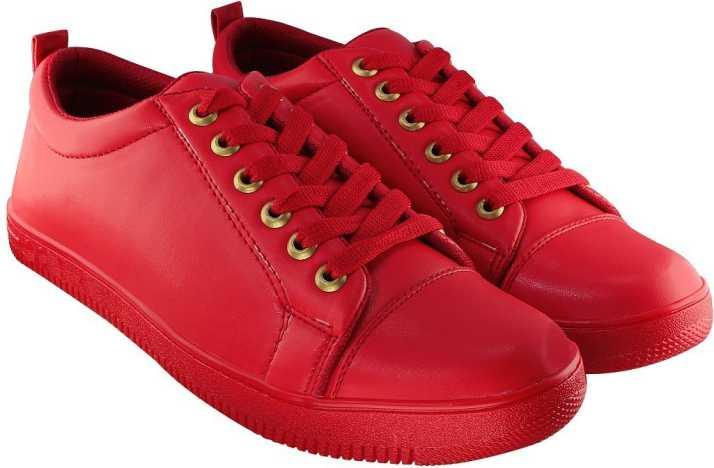a5535ae3d22 Blinder Men s Full Red Sneakers For Men - Buy Blinder Men s Full Red ...