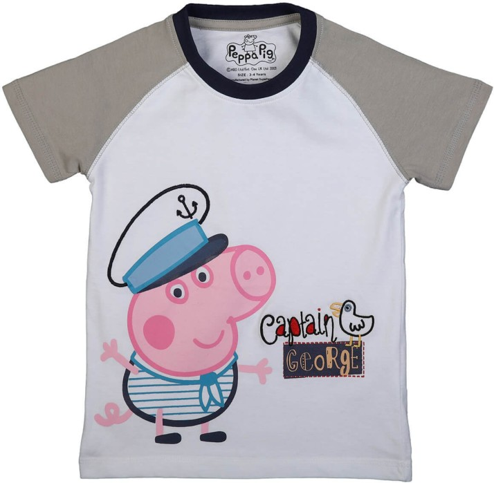 Boys vest Peppa Pig George cotton 3 pack