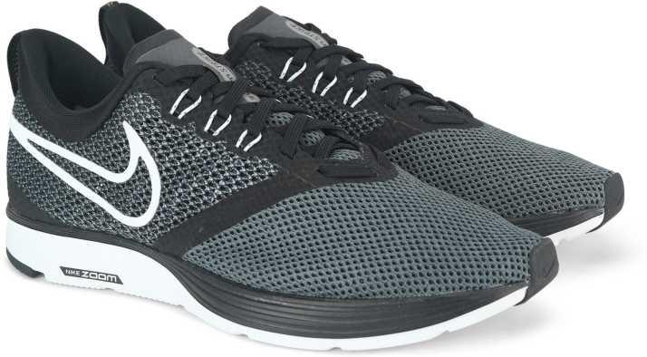 335934cae71 Nike WMNS NIKE ZOOM STRIKE Running Shoe For Women - Buy BLACK WHITE ...