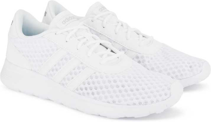 ADIDAS LITE RACER Running Shoes For Women - Buy White Color ADIDAS ... 8ab7e3d77