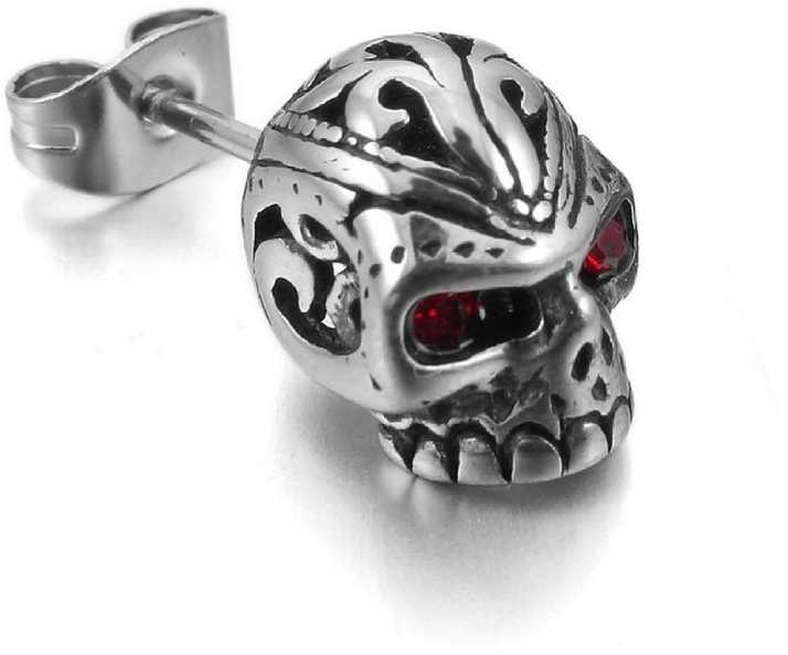 c292e6c61 Flipkart.com - Buy Divastri Monster Skull Single Stud Stainless Steel  Crystal Alloy Stud Earring Online at Best Prices in India