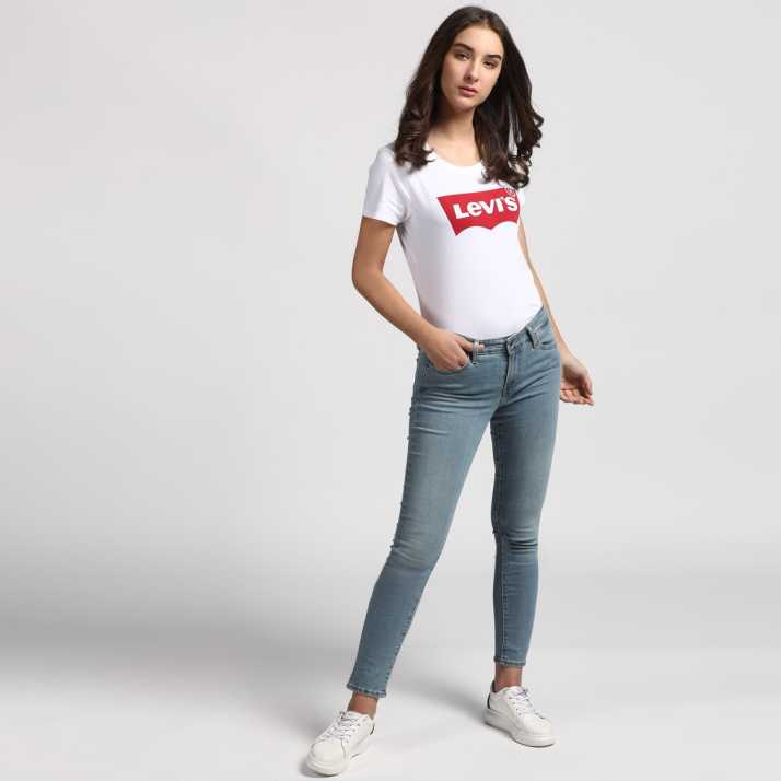 3e507deea5 Levi s Skinny Women s Blue Jeans - Buy Blue Levi s Skinny Women s Blue Jeans  Online at Best Prices in India