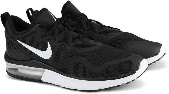 416fcd44fd0b9 Nike NIKE AIR MAX FURY Sneakers For Men - Buy BLACK WHITE-BLACK ...