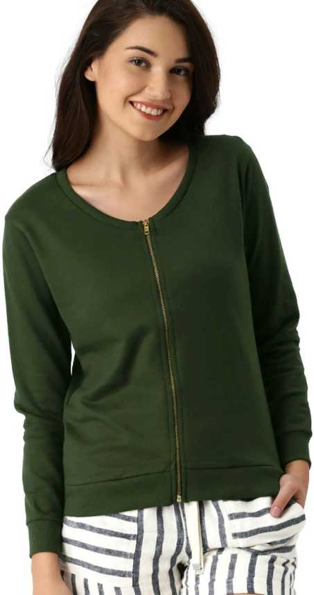 766113e71a0 Dressberry Full Sleeve Solid Women Sweatshirt - Buy Dressberry Full Sleeve  Solid Women Sweatshirt Online at Best Prices in India