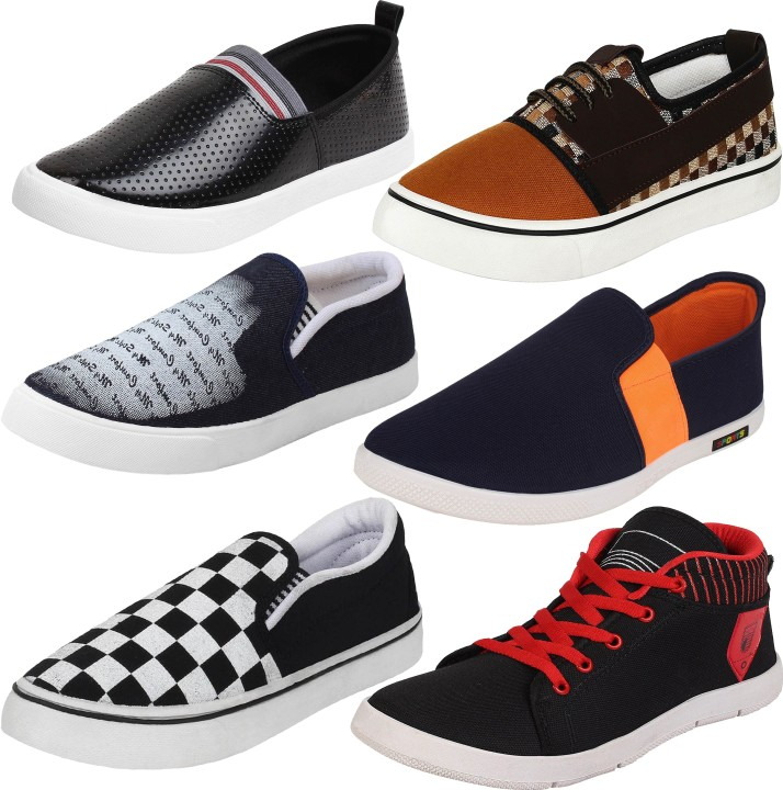 Pack of Combo Shoes Loafers For Men