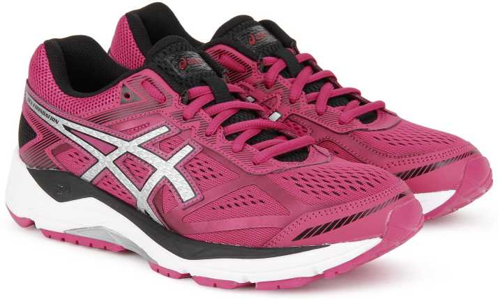 Semicírculo manzana chasquido  Asics GEL-FOUNDATION 12 (D) Running Shoes For Women - Buy PINK  PEACOCK/SILVER/BLACK Color Asics GEL-FOUNDATION 12 (D) Running Shoes For  Women Online at Best Price - Shop Online for Footwears in India