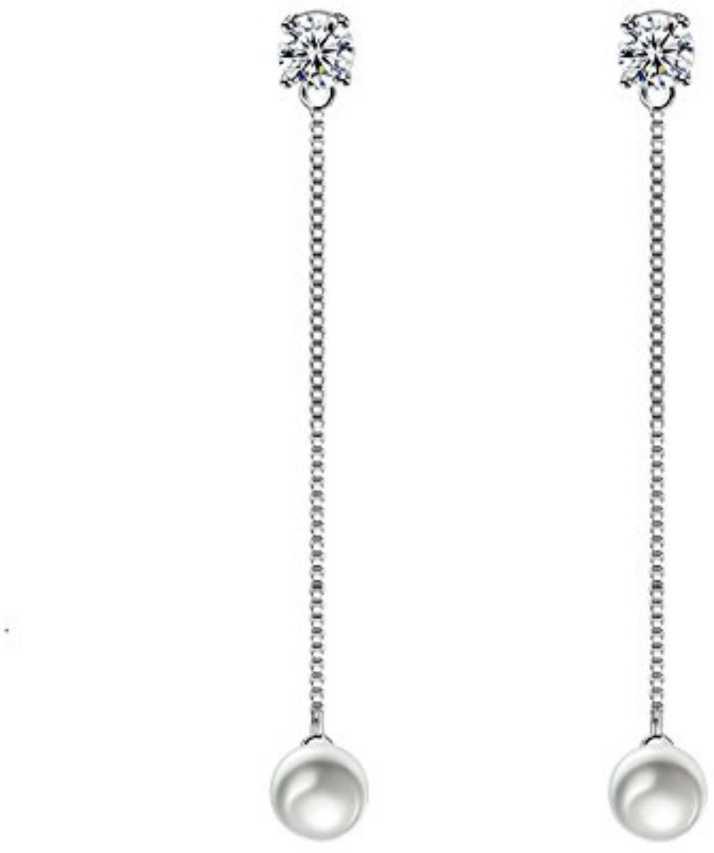 c0f18f951ea95 Flipkart.com - Buy MYKI Style Statement Pearl Earrings For Women ...