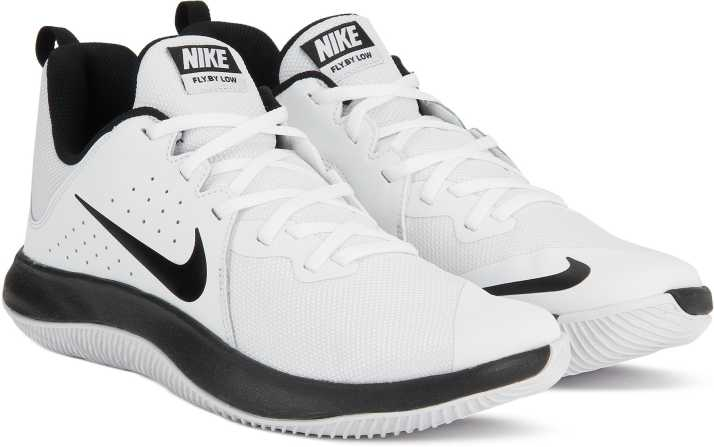 4b10376d84a53 Nike FLY.BY LOW Basketball Shoes For Men - Buy WHITE BLACK-PURE ...