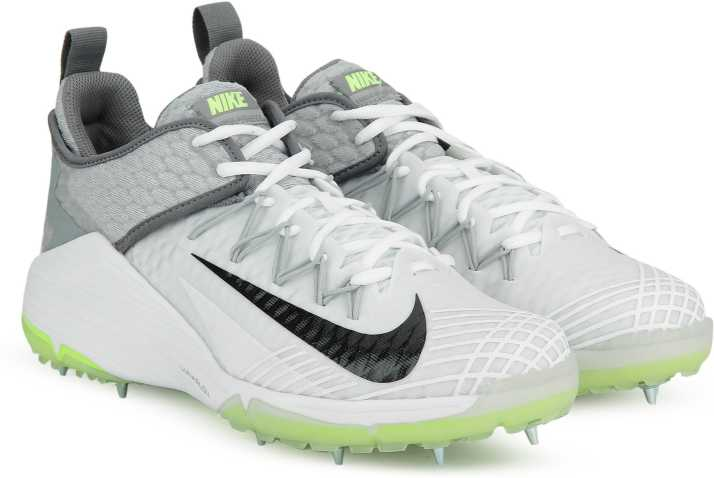289f66e79f7b9d Nike LUNAR AUDACITY Cricket Shoes For Men - Buy WHITE BLACK-WOLF ...