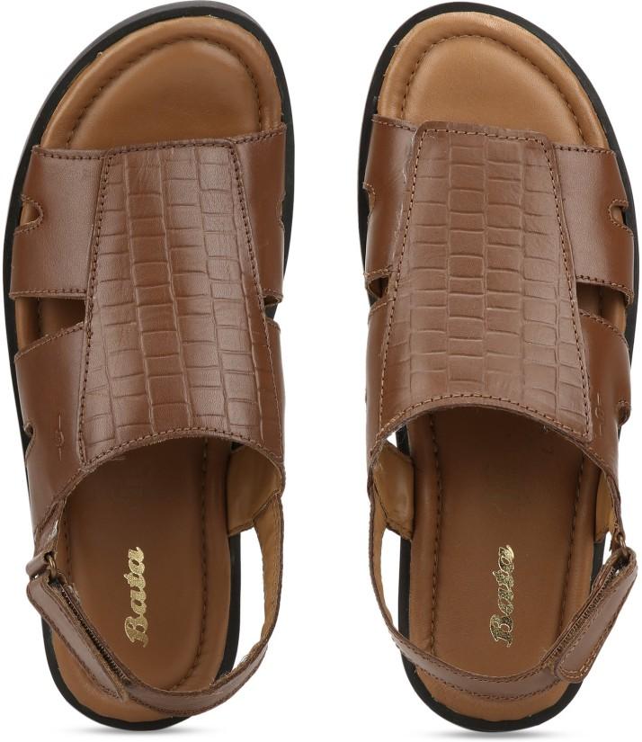 Bata Men Tan Sandals - Buy Bata Men Tan