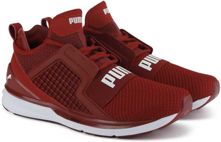 Puma IGNITE Limitless Weave Running Shoes For Men - Buy Red Dahlia ... 6d830852d