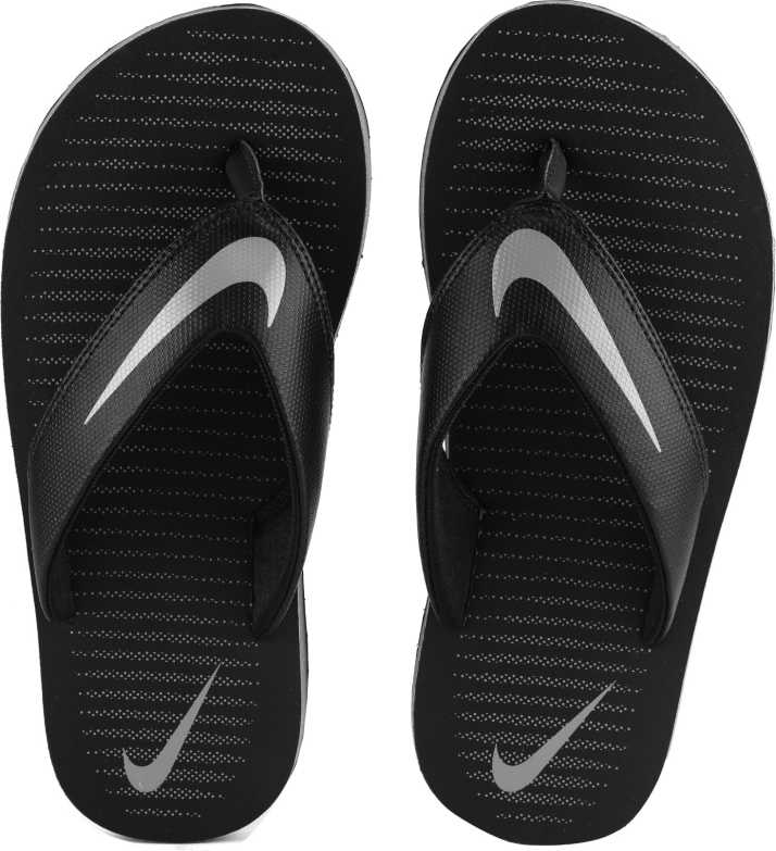 efb8141afcbb Nike CHROMA THONG 5 Slippers - Buy BLACK COOL GREY-BLACK-COOL GREY Color Nike  CHROMA THONG 5 Slippers Online at Best Price - Shop Online for Footwears in  ...