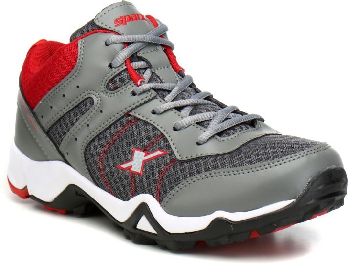 Sparx Men SM-319 Grey Red Running Shoes