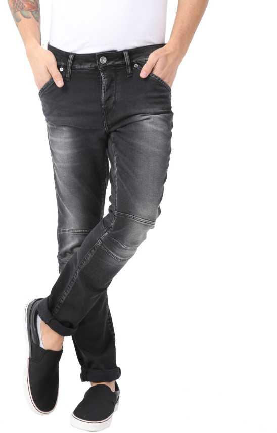 3f602e8c887 Voi Jeans Slim Men's Black, Grey Jeans - Buy Voi Jeans Slim Men's Black,  Grey Jeans Online at Best Prices in India | Flipkart.com